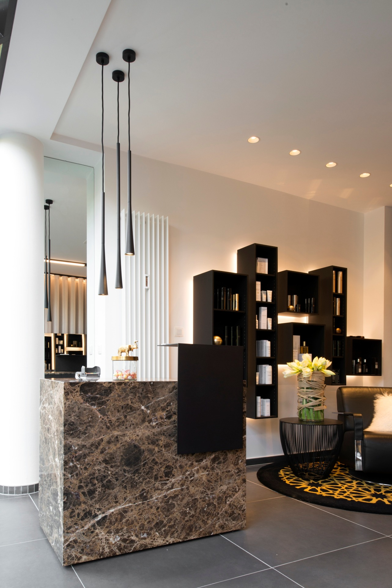 Elegant Mobilier Salon De Coiffure Liege